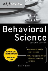 Deja Review Behavioral Science, Second Edition free download
