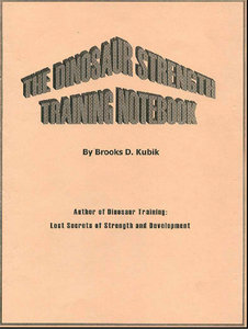 Brooks Kubik - The Dinosaur Strength Training Notebook free download