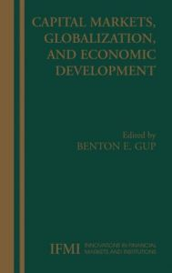 Capital Markets, Globalization, and Economic Development From Springer free download