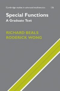 Special Functions: A Graduate Text ( Studies in Advanced Mathematics) free download