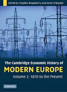 The Cambridge Economic History of Modern Europe: Volume 2, 1870 to the Present free download