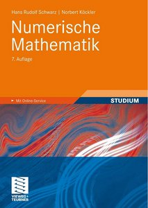 Numerische Mathematik, 7 Auflage free download