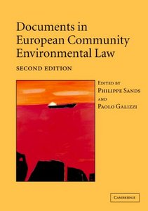 Documents in European Community Environmental Law free download