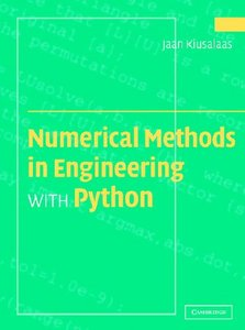 Numerical Methods in Engineering with Python free download