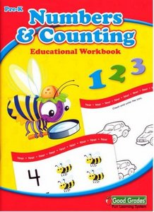 Numbers Counting Educational Workbook (Pre-K) free download