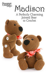 Madison A perfectly charming joined bear to crochet free download