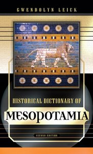 Historical Dictionary of Mesopotamia free download