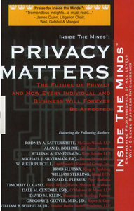 Privacy Matters: Leading CTOs Lawyers on What Every Business Professional Should Know Privacy, Technology the Internet free download