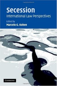 Secession: International Law Perspectives free download