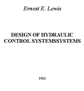 Design of Hydraulic Control Systems free download