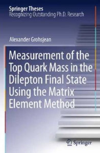 Measurement of the Top Quark Mass in the Dilepton Final State Using the Matrix Element Method free download