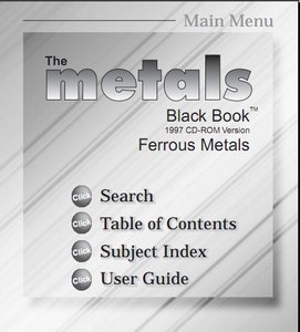The Metals Black Book: Ferrous Metals free download