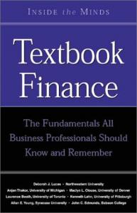 Textbook Finance: Leading Financial Professors From the World's Top Business Schools free download