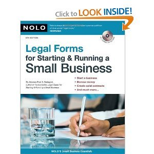 Legal Forms for Starting Running a Small Business free download