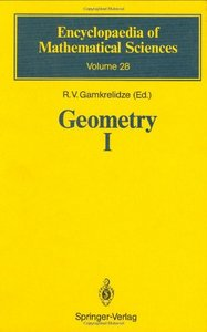 Geometry I: Basic Ideas and Concepts of Differential Geometry free download