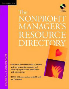 The Nonprofit Manager's Resource Directory, 2nd Edition free download