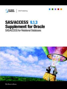 SAS/ACCESS 9.1.3 Supplement for Oracle free download