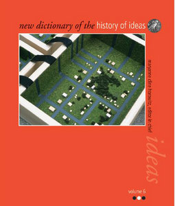 New Dictionary Of The History Of Ideas Vol 6 free download