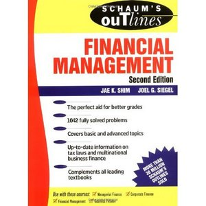 Schaum's Outline of Financial Management free download