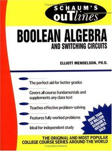 Schaum's Outline of Boolean Algebra and Switching Circuits free download