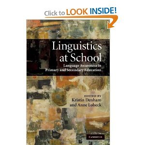 Linguistics at School: Language Awareness in Primary and Secondary Education free download