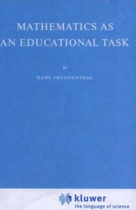 Mathematics as an Educational Task free download