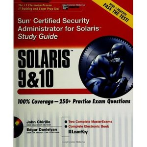 Sun Certified Security Administrator for Solaris 9 10 Study Guide free download