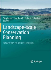 Landscape-scale Conservation Planning free download