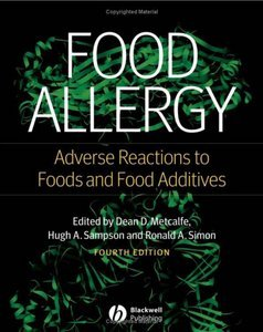 Food Allergy: Adverse Reactions to Foods and Food Additives free download