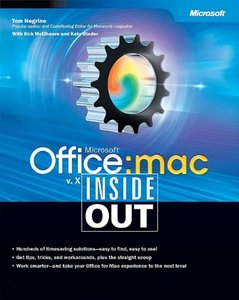 Microsoft Office v. X for Mac Inside Out free download