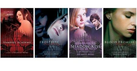 Richelle Mead - Vampire Academy Series [4 books] free download