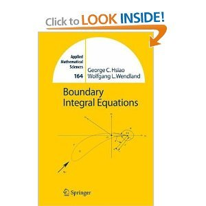 Boundary Integral Equations free download