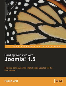 Building Websites with Joomla! 1.5: The best-selling Joomla! tutorial guide updated for the latest 1.5 release free download