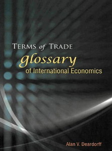 Terms of Trade: Glossary of International Economics free download
