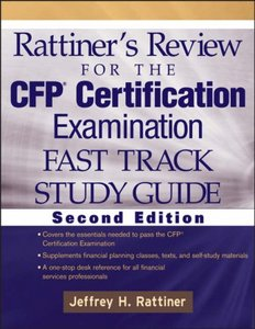 Rattiner's Review for the CFP Certification Examination, Fast Track, Study Guide free download