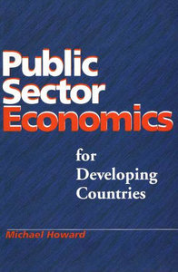 Public Sector Economics For Developing Countries free download
