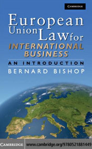 European Union Law for International Business: An Introduction free download