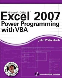 Excel 2007 Power Programming with VBA-repost free download