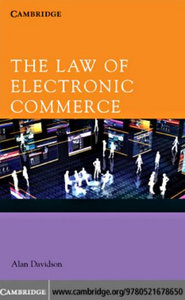 The Law of Electronic Commerce free download