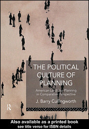 The Political Culture of Planning free download