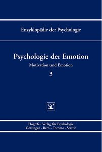 Enzyklopädie der Psychologie: Psychologie der Emotion: Serie 4 / BD 3 free download