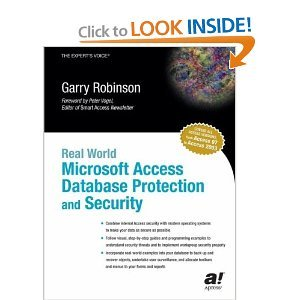 Real World Microsoft Access Database Protection and Security free download