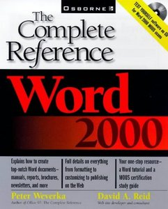 Word 2000: The Complete Reference free download