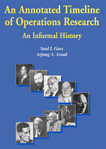 An Annotated Timeline of Operations Research: An Informal History free download