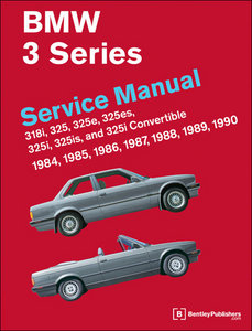 BMW 3 Series (E30) Service Manual: 1984-1990 free download