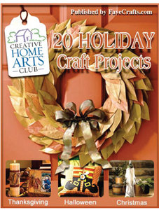 20 Holiday Craft Projects free download