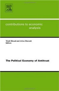The Political Economy of Antitrust, Volume 282 (Contributions to Economic Analysis) (Contributions to Economic Analysis) free download