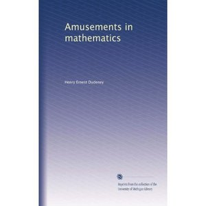 Amusements in mathematics free download