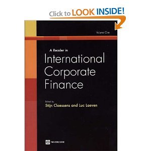 A Reader in International Corporate Finance free download