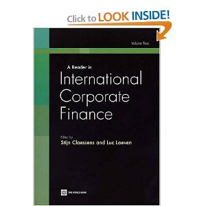 A Reader in International Corporate Finance, Volume 2 free download